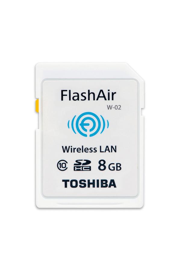 Carte sd toshiba carte sd wifi flashair 8gb 4199979 darty - Carte sd darty ...