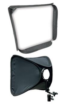 Accessoires photo Dorr Kit Boite à lumière + griffe flash