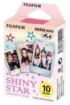 Papier photo instantané Fujifilm FILM INSTA MINI MONOPACK SHINY STAR