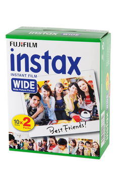 Papier d'impression PAPIER PHOTO INSTAX WIDE BIPACK Fujifilm