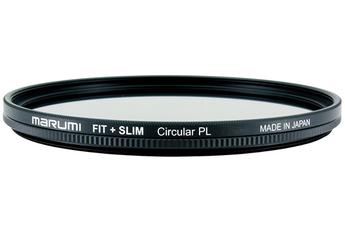 Filtre d'objectif / bague Marumi Fit + Slim Circular PL 58mm