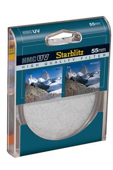 Filtre d'objectif / bague Filtre UVMC55mm Starblitz