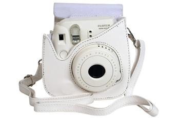 Housse pour appareil photo HOUSSE MINI 8 BLANC Fujifilm