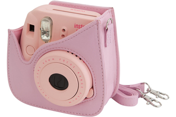 Housse pour appareil photo HOUSSE INSTAX MINI 8 ROSE Fujifilm