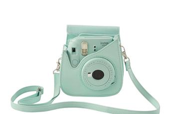 Sac, housse, étui photo - vidéo Fuji Housse de protection Bleu Givré pour Instax Mini 9
