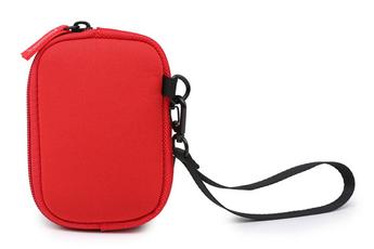 Sac, housse, étui photo - vidéo Hemera Housse Karthala rouge pour appareil photo compact