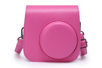 Sac, housse, étui photo - vidéo Hemera Housse de protection rose pour Instax Mini 8 & 9