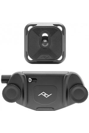 Sac, housse, étui photo - vidéo Peak Design Capture camera clip v3 noir avec plateau standard