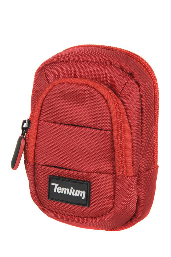 Housse pour appareil photo temium compact red 1385305 for Housse appareil photo compact
