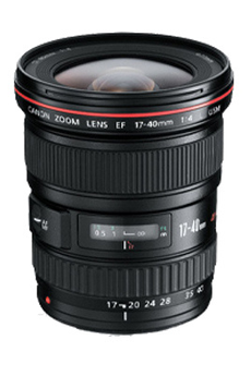 Objectif photo EF 17-40mm f/4L USM Canon