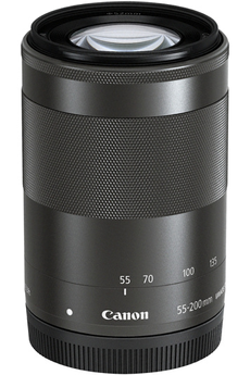 Objectif zoom Canon EF-M 55-200 mm f/4,5-6,3 IS STM