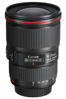 Objectif photo EF 16-35MM F/4L IS USM Canon