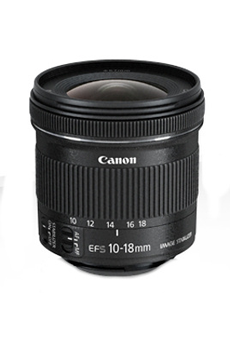 Objectif photo EF-S 10-18mm f4,5-5,6 IS STM Canon