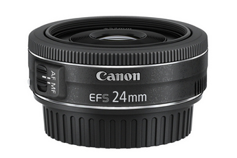 Objectif photo EF-S 24mm f/2,8 STM Canon