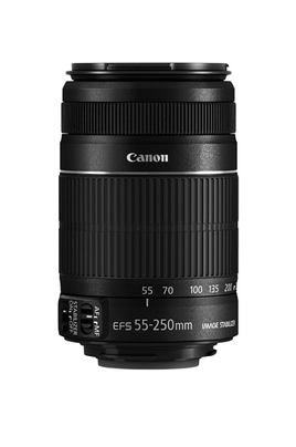 Objectif photo Canon EF-S 55-250MM f/4-5.6 IS STM