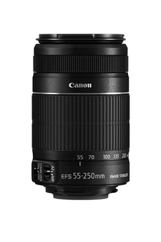 Objectif photo EF-S 55-250MM f/4-5.6 IS STM Canon