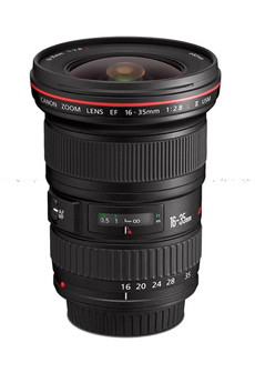 Objectif photo EF 16-35mm f/2.8L II USM Canon