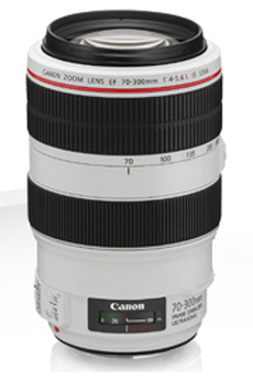 Objectif photo EF 70-300mm f/4-5.6L IS USM Canon