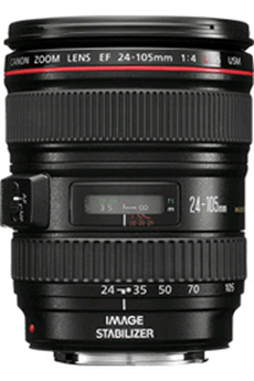 Objectif photo EF 24-105mm f/4L IS USM Canon
