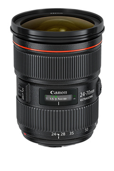 Objectif photo EF 24-70mm f/2.8L II USM Canon