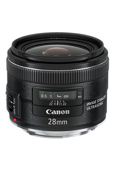 Objectif photo EF 28mm f/2.8 IS USM Canon