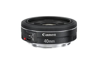 Objectif photo EF 40 mm f/2.8 STM Pancake Canon