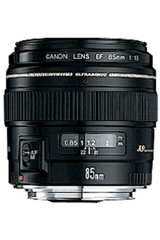 Objectif photo EF 85MM F/1,8 USM Canon