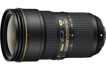 Objectif zoom Nikon AF-S NIKKOR 24-70MM F/2.8E ED VR