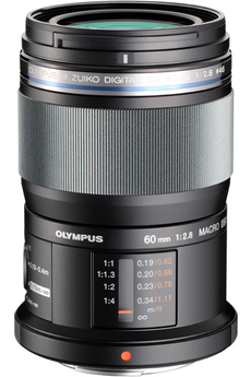 ZUIKO 60 2.8 Macro BLACK EM-M6028 Tropicalisé