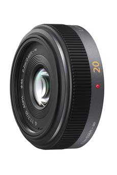 Objectif photo 20 mm f/1.7 II Pancake pour Lumix G Panasonic