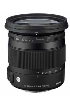 Objectif photo 17-70mm F2.8-4 DC OS / Contemporary Nikon Sigma