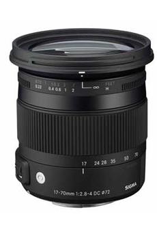 Objectif photo 17-70mm F2.8-4 DC / Contemporary Sony Sigma