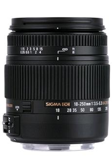 18-250mm F3.5-6.3 DC Macro OS HSM Canon