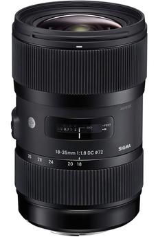 18-35mm F1.8 DC HSM - monture Canon