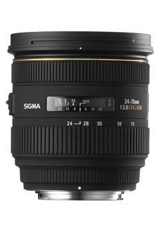Objectif photo 24-70mm F2.8 DG HSM Nikon Sigma