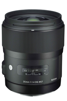 Objectif photo 35mm F1.4 DG HSM / Art Canon Sigma