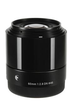 Objectif photo 60mm F2.8 DN NOIR Sigma