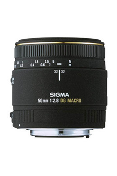Objectif photo Objectif 50 MACRO NIKON Sigma