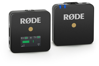 Microphone Rode Micro sans fil RODE WirelessGO BK
