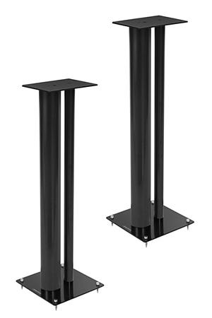 support d 39 enceinte norstone stylum 3 bk stylum 3 noir. Black Bedroom Furniture Sets. Home Design Ideas