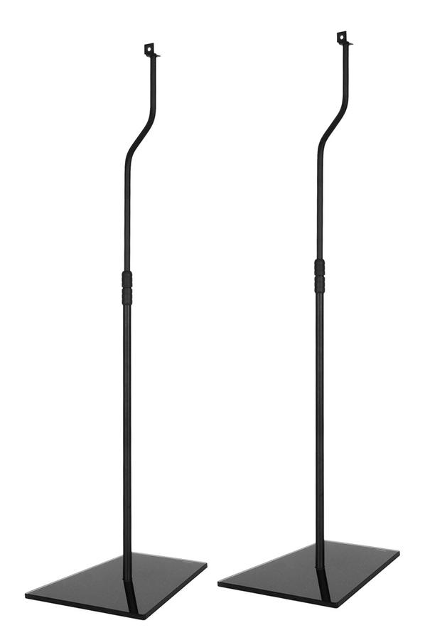 support d 39 enceinte temium teak85b 1372360 darty. Black Bedroom Furniture Sets. Home Design Ideas