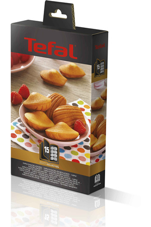 Accessoire cuisson tefal plaques snack collection mini madeleine darty - Plaque tefal snack collection ...