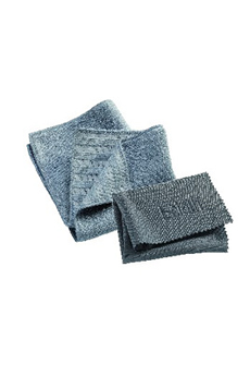 Chiffon microfibres KIT SURFACES INOX E-cloth