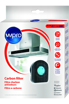 Filtre de hotte anti odeurs CHF200-1 Wpro