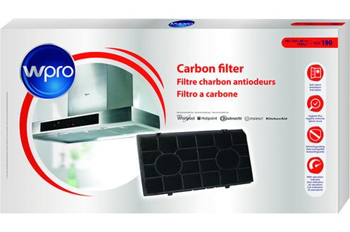 Filtre de hotte anti odeurs Wpro FILTRE CHF190/1