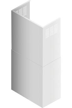 Accessoire Hotte Airlux Kit cheminée blanche AHWACWH