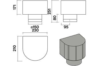 Accessoire Hotte Falmec KACL.948IF