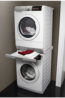 Tout le choix darty en kit de superposition darty - Superposition lave linge seche linge ...