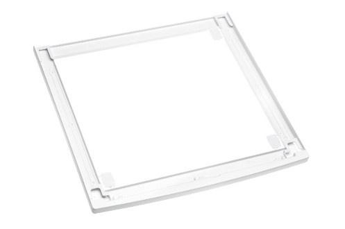 Kit de superposition blanc Sans tablette Pour lave-linge W1 et sèche-linge T1 WhiteEdition MIELE Largeur 60 cm