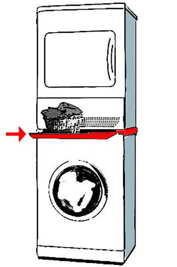 Kit de superposition siemens wz 20 300 a tab wz20300 2044900 darty - Kit condenseur seche linge ...